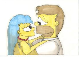Homer And Marge - True Love by ChnProd22