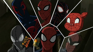 1001 Animations: Spider-Verse by finalmaster24