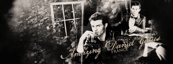 Amazing Daniel Gillies - France by N0xentra