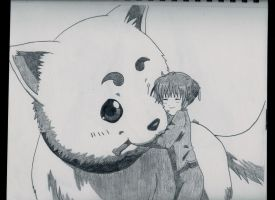 Sadaharu and Kagura by LileoDark