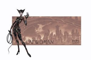 Catwoman 1920s by sethu13