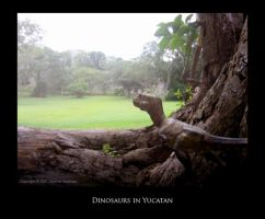 Dinosaurs In Yucatan by Red-Dilopho