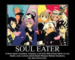 Soul Eater poster by 88Death-The-Kid88