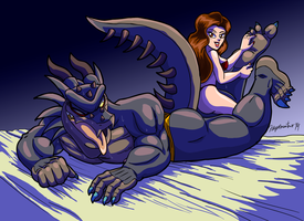 Big Bad Dragon Is Ticklish 2 by Jane1