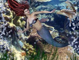 In the Sea by Melisand3