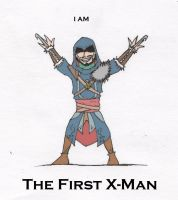 The First X-man by Steam-Punker
