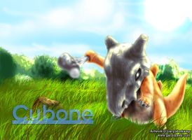 Cubone by GaryStorkamp