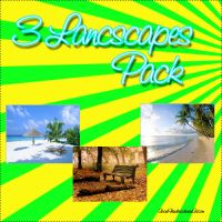 3 Landscapes Pack by AboutFlawless