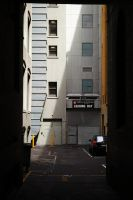 loading bay, Melbourne by thespook
