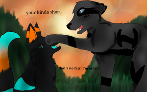 your kinda short... - art collab! - by Optimistic-Chip