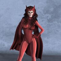 Scarlet Witch in Studio by Aszmo