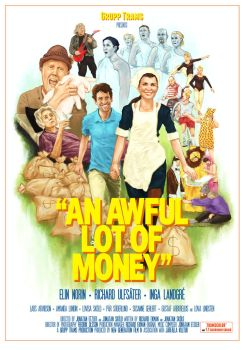 An Awful Lot of Money, Poster by MAWikdahl