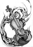 Imaginarium Violin by LordMiras