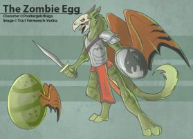 The Zombie Egg by Ulario