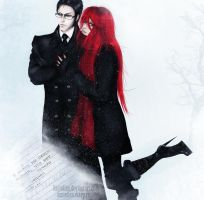 "William and Grell ""Winter"" by Dantelian"
