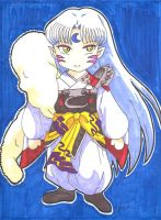 Chibi Sesshomaru by gypsychilde