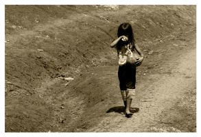 Young Girl by WindDesert