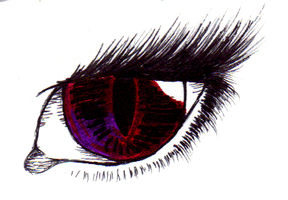 Eye Sketch 2 by Ultralee0