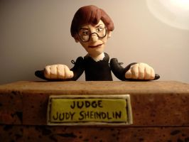 Judge Judy sculpture thing by ShoJoJim