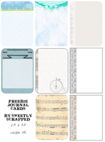 Journaling Cards by SweetlyScrapped