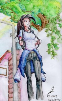Playing with color Pencils part 7 by Azhunt