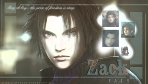 Zack Fair by OmniaMohamedArt