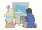 Be my Player 2 by 3-Angled-Blue