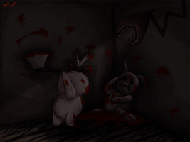 in a dark room somewhere by A-D-Aether