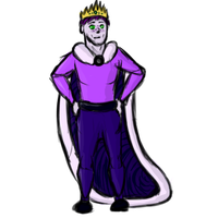 King of Purple and Amethyst by Sleeping-Seven