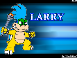 NSMBWii Larry by YoshiMan1118