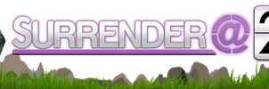 Surrender At 20 Logo/Banner by Whodiss