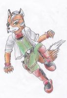 Fox McCloud by kanineious
