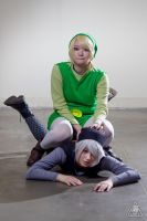 MAGFest 2013 - Link and Dark Link 3 by Uminiphoto