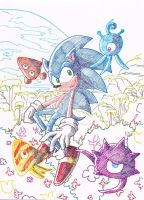 Sonic Colours by ThePandamis