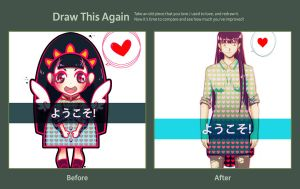 -_Draw this again_- by VanilliaWings