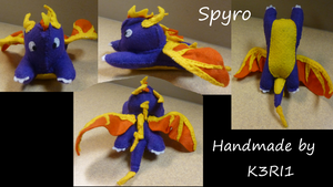 Spyro Plush by K3RI1