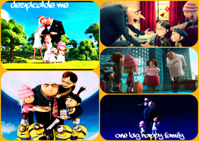 Despicable Me One Big Happy Family by Angelgirl10