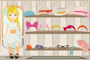 Iphone game dolls dressing by Melisendevector