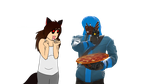 Pizza and Diffrent Dimensions by TakumoStorm