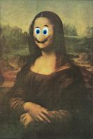 Mona Lisa Mario by Hennell