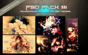 PSD PACK #1 by auliachan