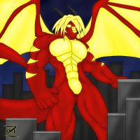 - Dragonfireny - by notveryathletic