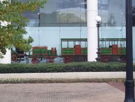high museum of art trip: the train nearby by hinata1star