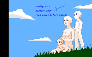 Family base by KyraEnvyChan-bases