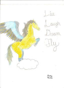 Live, Laugh, Dream, Fly by Shmipylip