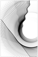 Black And White Abstract 15 by TomWilcox