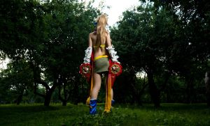 Final Fantasy X - Rikku by mchechenev