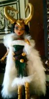 Thor Lady Loki MH Custom Doll by invader-hime