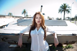 Amy at Miramar Air Museum 6 by trevor-w