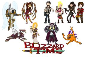 Blizzard time! by thelimeofdoom